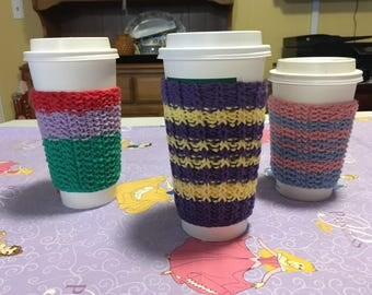 Knitted Mug Cozies - Princesses