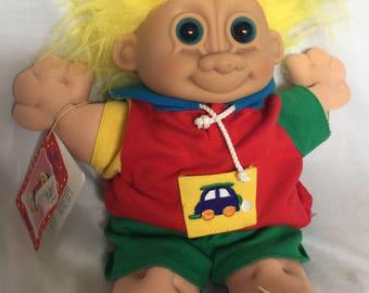 Vintage Soft Troll Doll