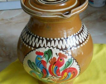 Traditional romanian pitcher