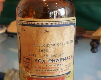 product bottle pharmaceutical vintage poison amber bottle