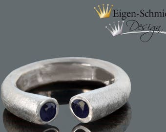 """Silverring, """"Cottage"""" 925 Sterling Silver"""