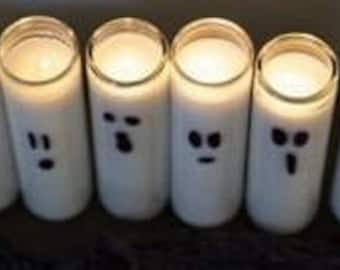 Halloween Ghost Candles