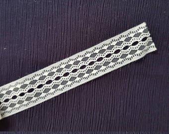 Vintage white tape / braid /stripe for decorations