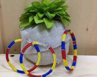 Colombian Crochet Jewellery Set