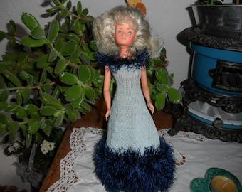 beautiful long dress for barbie