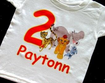 Boys Lion Guard Birthday Shirt, Lion Guard, Lion Guard Shirt, Animals, Lion King, Birthday Shirt, Birthday Boy, Custom Shirt