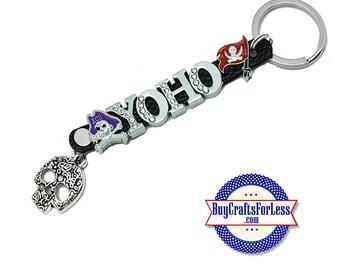 PIRATE YoHo HALLOWEEN 8mm Key Ring from BuyCraftsForLess +FREE Shipping & Discounts*