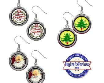 NiCE CHRiSTMAS EARRINGS, 3 NEW CuTE Styles +99cent Shipping & Discounts*