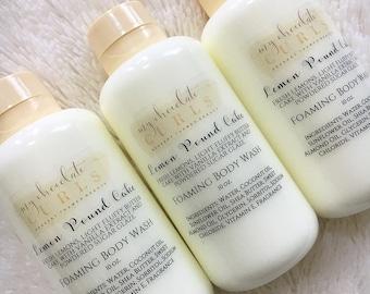 Lemon Pound Foaming Body Wash, Body Wash, Soap, Liquid Soap, Bath wash, Bath and Body, Dessert Beauty, Skin Care, Beauty, Moisturizer, Soap