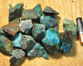 Chrysocolla/Turquoise Rough