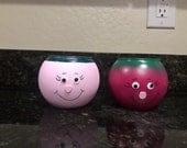 Mini Face Jars