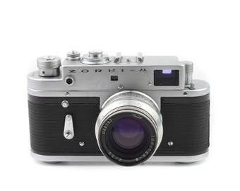 ZORKI - 4 Camera with Jupiter - 8 52mm f/2 Lens c.1967-1973