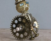 12th scale Steampunk Model: Robot G