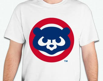 Chicago Cubs   old vintage logo  Tshirt shirt