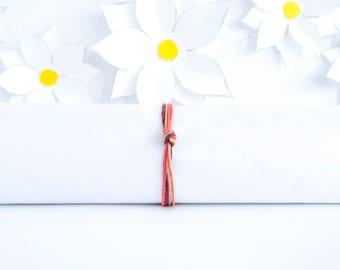 Desert Simple Bracelet | Knotted Hemp Bracelet | Stackable Bracelet | Handmade Jewelry | Adjustable Bracelet | Gifts for Women