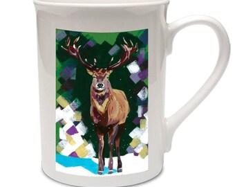 Christmas Stag mug