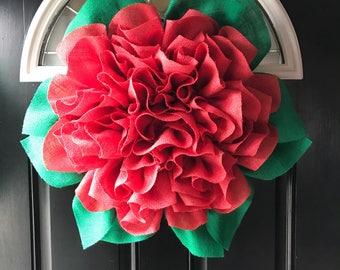 Marigold wreath, wreath, pink wreath, rustic decor, front door wreath, door decor, shabby chic, burlap wreath, best wreath, spring wreath