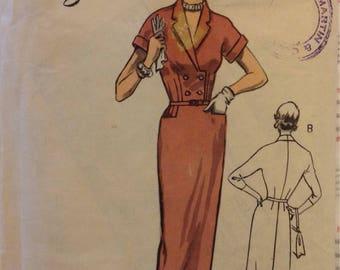 1950s Weigels lady dress pattern size 34 in