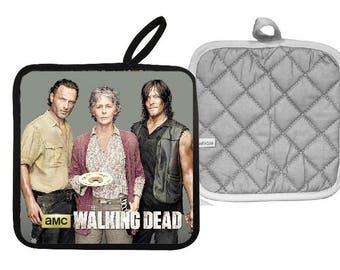 The Walking Dead Rick Carol and Daryl Pot Holder