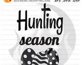 SVG Cutting File, Hunting...
