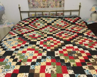 Farm homemade quilt