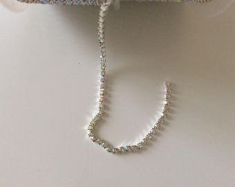 3 mm dense AB color Crystal rhinestones