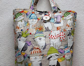 Cats In Hats Gift Bag