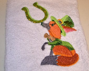 Custom hand towels for housewarming, new home, new family or just sprucing up your own home