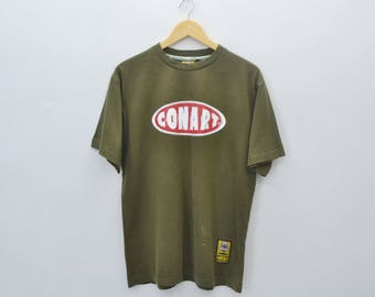 CONART Shirt Conart Clothing Vintage 90's Conart World Wide Anything is Possible Paint Block Art Shit Tee T Shirt Size M
