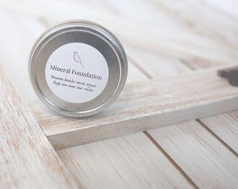 Mineral Powder Foundation, All Natural Foundation,  Oil-free Powder Foundation