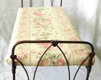 "Artisan Made American Girl 20"" Scale Wrought Iron Look Bed ""Abbey"""