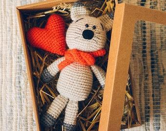 Plush Kitty, Crochet Cat, Plush Cat, Amigurumi Stuffed Toy