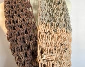 Chunky Cowl in Pecan Fudge | Winter Fashion Accessories | Crocheted