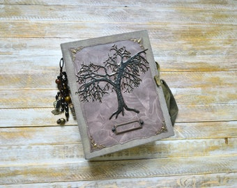 Witch Junk Journal, Junk Journal, Magic Junk Journal, Handmade Journal, Witch Notebook, Book of Shadows, Book of Spells, Handmade Spell Book