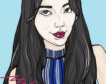 Portrait Art for customer desgin