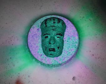 Frankenstein's Monster Halloween Bath Bomb