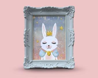 Rabbit portrait