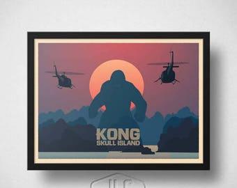 ON SALE King Kong - Skull Island Movie Poster
