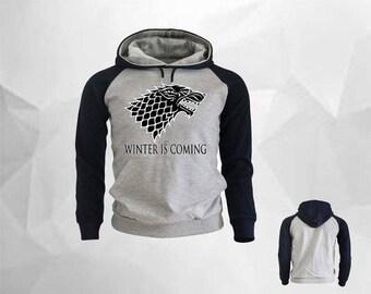Winter is Coming State of NEBRASKA Game of Thrones Hoodie Game of Thrones Gift ioVx2eQD
