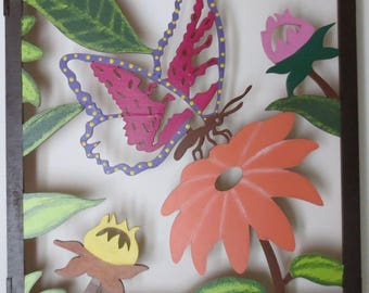 Acrylic Wood Painting- Butterfly