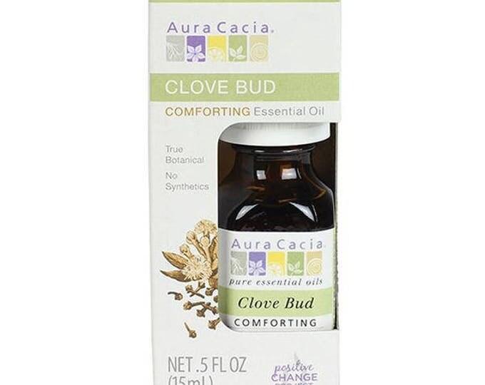 Aura Cacia Clove Bud Essential Oil, 0.5 FL. OZ.