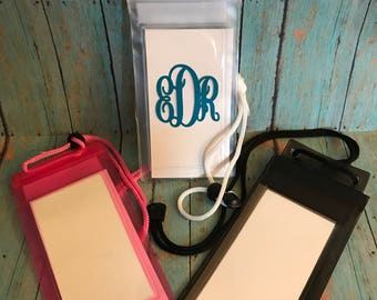 Personalized  Waterproof Phone Pouches!