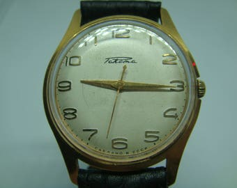 RAKETA soviet wristwatch gilted case ideal state ussr cal 2609 A 21 jewels watch