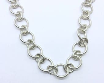 germau studio link chain necklace #362