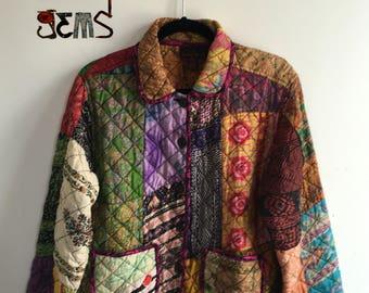 Vintage Quilted Jacket