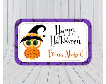 36 x Halloween stickers, Halloween favour stickers, Halloween party stickers, Personalised halloween stickers, 105