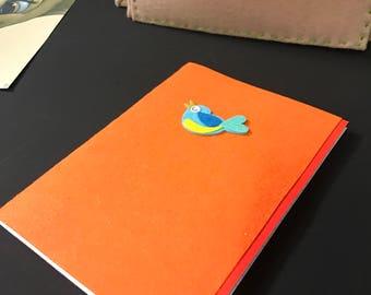 Handmade Felt Notebook
