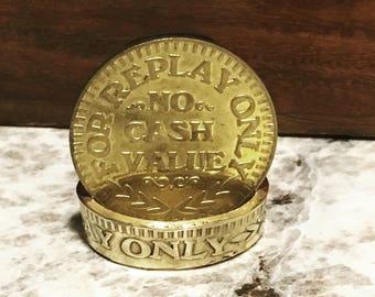 Arcade Coin Ring
