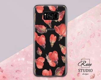 Floral Samsung Case Rose case Samsung 8 plus case Galaxy 7 case Samsung case Flower phone case Samsung s7 edge case Samsung s8 case Samsung