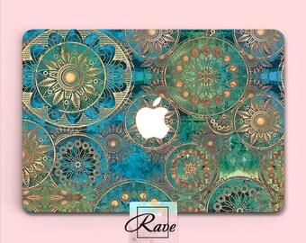 Mandala case MacBook 13 inch case laptop hard case Mac air 11 case New Macbook pro MacBook 15 in sleeve 12 MacBook a1502 Touch Bar Bohemian